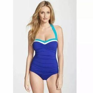 Tommy Bahama Bandeau Tummy Control  Swimsuit 4